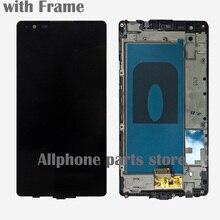 מקורי עבור LG X כוח K220DS K220 LCD תצוגה עם מסך מגע Digitizer עצרת עם מסגרת