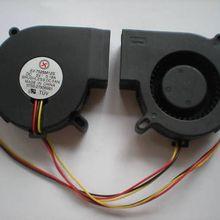 1 шт. Бесщеточный вентилятор охлаждения постоянного тока 7525 S 5 V 75mm x 25mm 3 провода