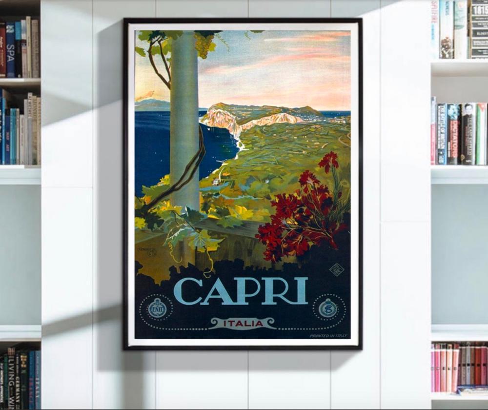 Travel Paris Lyon Mediterranean Vintage Advert Retro Metal Sign Plaque holiday