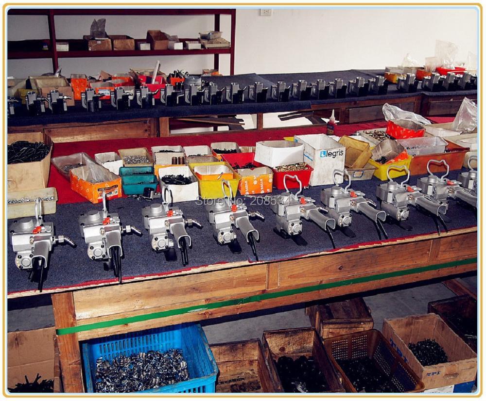 Pneumatyczne narzędzie do ręcznego spinania taśm o dużym - Elektronarzędzia - Zdjęcie 6