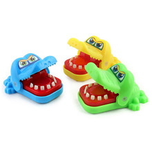 Hippo Shark Small Size Mouth Dentist Bite Finger Party Game Funny Animal Play Kids Gift Educational Toy Children Biting 8.4cm