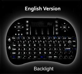 Rii i8+ Backlit-English