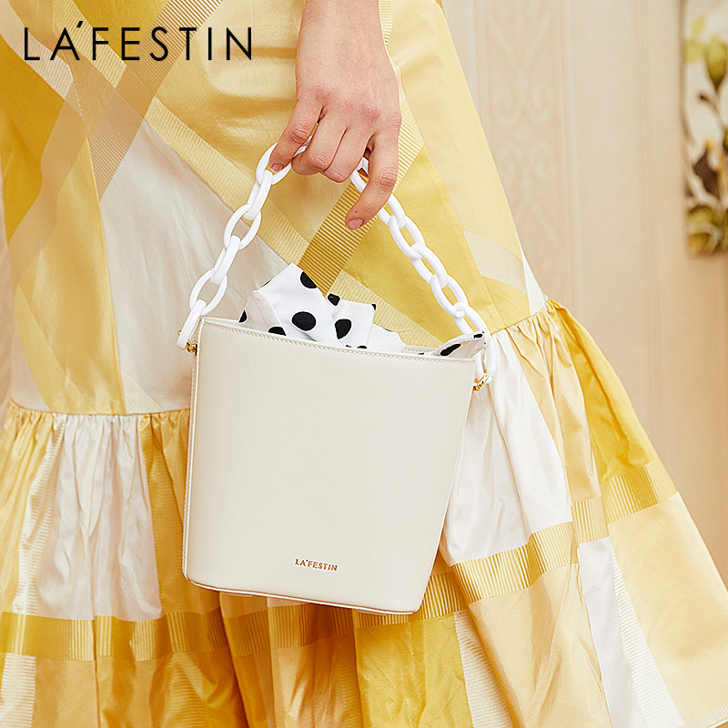La festin 2019 new wave point bag female bucket bag simple handbag shoulder bags casual messenger