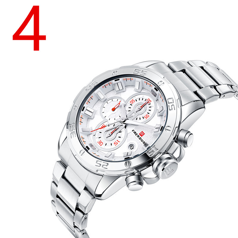 In 2018, new men quartz watch, high-quality outdoor sports men's wristwatch strap, fashion business watch, male.01 business casual fashion watch features diamond dial strip of male and female students in outdoor sports with retro lovers watch