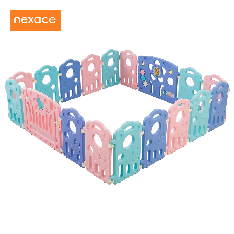 Baby Fence Playpen For Children Infants Play Room Activity Pool