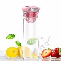 AVOIN colorlife 800 ml Frutas Infusor Garrafa De Água-Flip-Top com Alça Portátil Novo design Ginásio Camping Esportes Presente do dia das bruxas