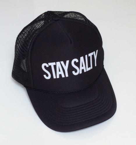 Prix pour Séjour Salé Lettres Impression Casquette de baseball Chapeau Pour Femmes Hommes Unisexe Maille Réglable Taille Drop Ship Noir M-2