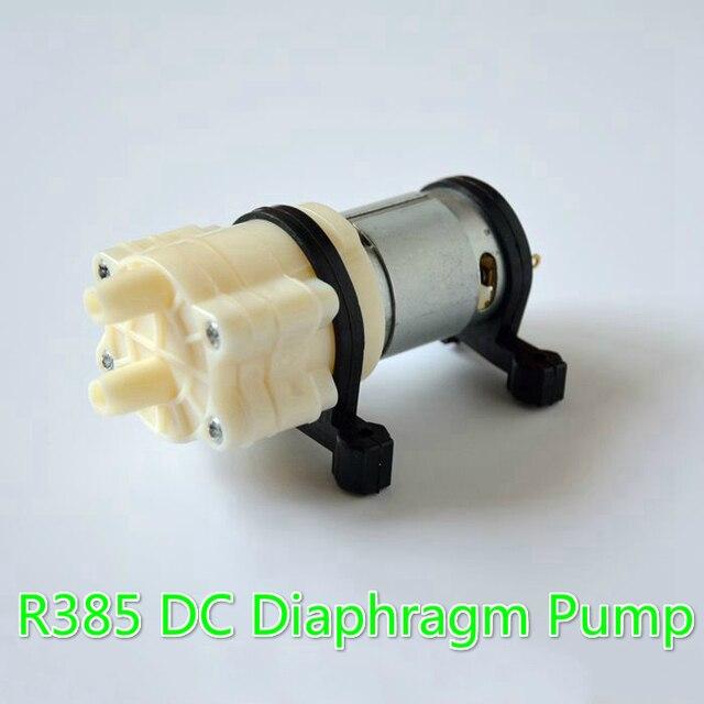 50 TEILE/LOS Aquarium R385 12 V DC membranpumpe Elektromagnetischer ...