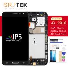 TFT Display j3 For Samsung J3 2016 Display J320 J320A J320F J320M Touch Digitizer Screen Sensor Glass Frame For galaxy j320f LCD for original samsung lcd screen for galaxy j3 j320 j320a j320f j320fn 2016 lcd display touch screen digitizer repair assembly