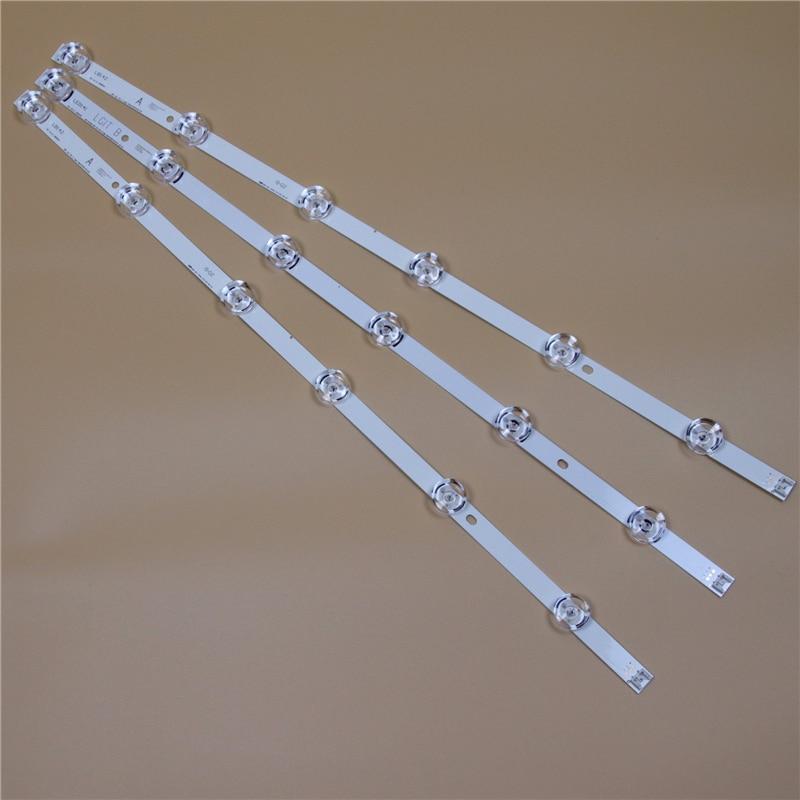 TV LED Bars For LG 32LB5800 32LB5700 32LB580U 32LB580V 32LB570U 32LB570V 32LB580B LED Backlight Strip Kit 6LED Lamp Lens 3 Bands