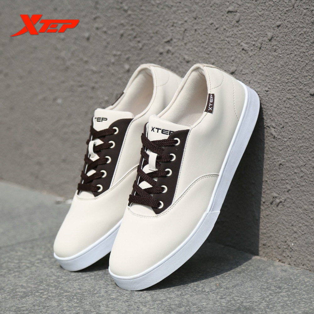 XTEP Skateboard Shoes for Men Originals Brand Sneakers Men's Shoes  Classice Athletic Sports Skateboarding Shoes 987419319628