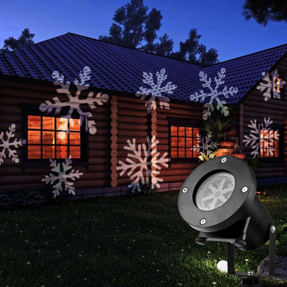 Removable 12 Moving Pattern Laser Projection Lamp Christmas New Year Outdoor Home Landscape Decoration 4 Plug Drop Shipping
