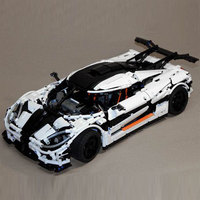 Lepin 23002 3136Pcs Technic Series The MOC 4789 Changing Racing Car Set Children Educational Building Blocks