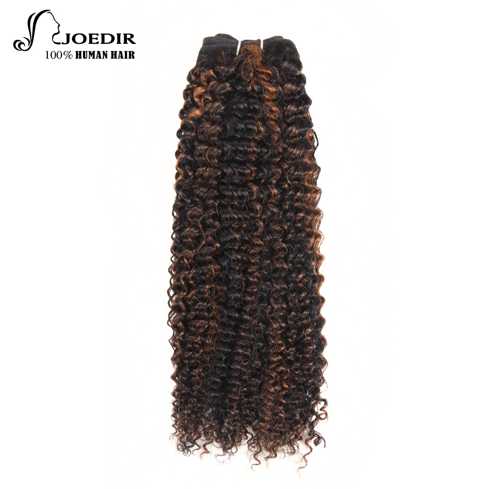 Joedir Remy Hair Bundles 113g Brazilian Water Wave One Piece 100% Human Hair Extension Color P1b/30 P4/27 P4/30free Shipping Sale Overall Discount 50-70% Hair Weaves
