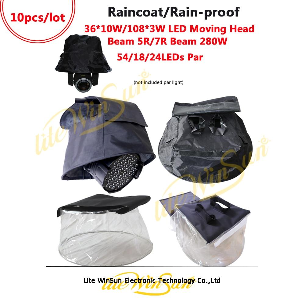 Litewinsune Raining Cover Protect 7R Beam Luz LED Impermeable Impermeable Capa de nieve Beam Cabezas móviles Accesorios Suministros