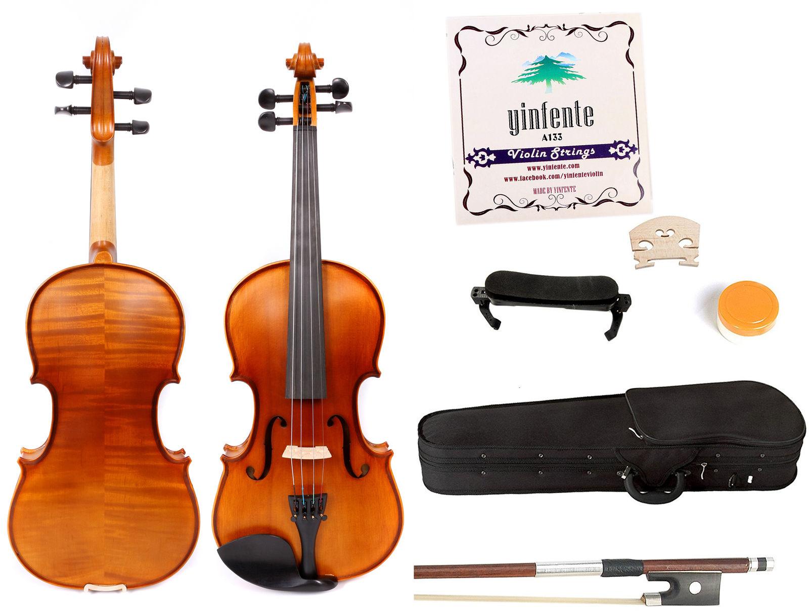 Sports & Entertainment Violin Parts & Accessories Violin Head Maple Neck Hand Carved Maple Wood Violin Ebony Fingerboard