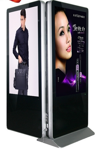 42 47 55 65inch Lg Dual Led Lcd TFT Double Sided HDMI 1080p Cctv Monitor Display Tv Digital Signage Totem Kiosk