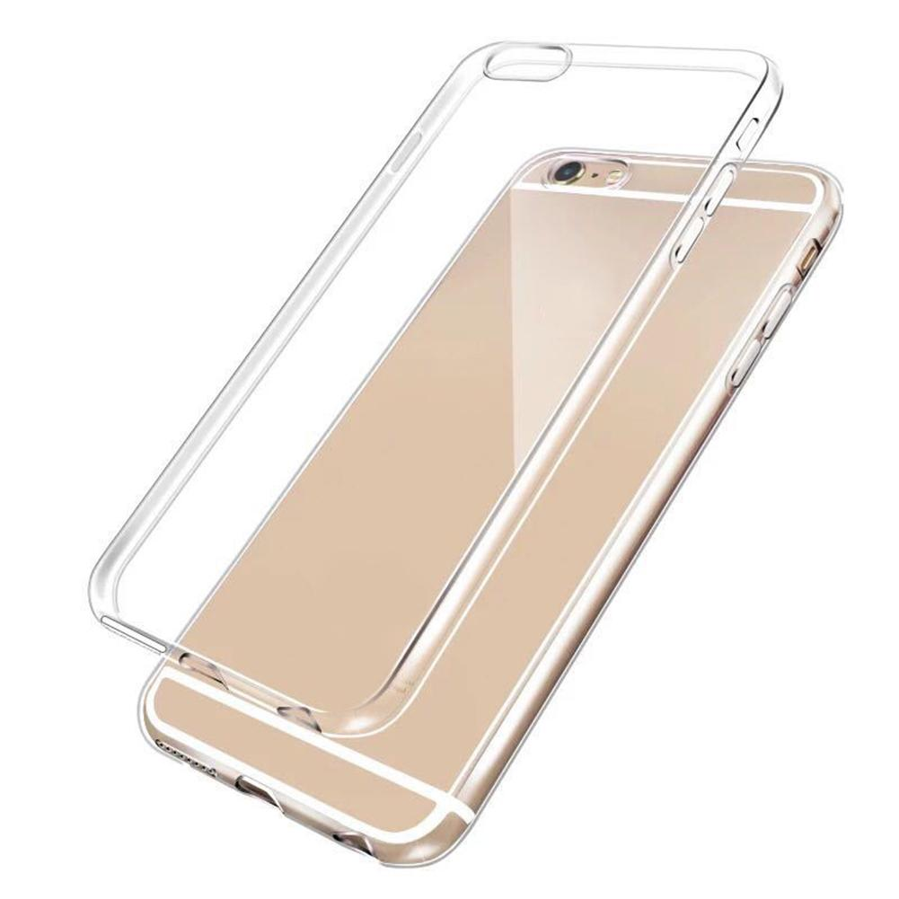 for iphone 7 case New Arrival Ultra slim Transparent TPU Phone Case Cover for iPhone X XS XS Max 7 8 7P 6 6S in Fitted Cases from Cellphones Telecommunications
