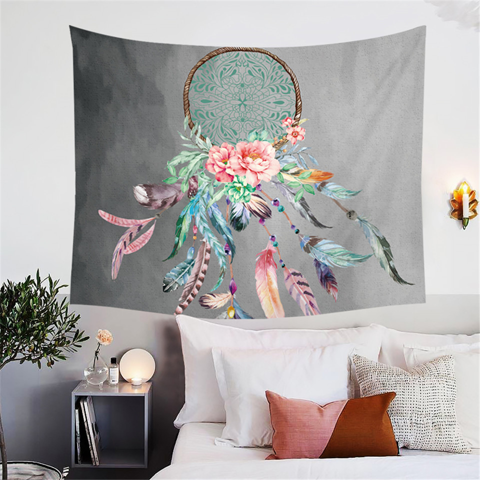 Blessliving Dreamcatcher Tapestry Wall Hanging Native American