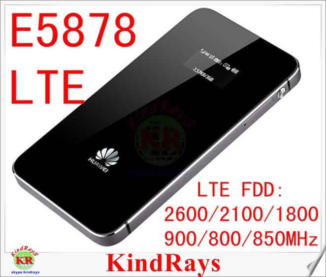 150Mbps Unlocked Huawei E5878 lte 4g vezeték nélküli útválasztó E5878s-32 4g-es zseb wifi FDD 900/800 / 850mhz PK E5776 E5372 ZTE MF910