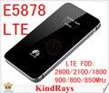 150Mbps Unlocked Huawei E5878 lte 4g wireless router E5878s-32 4g lte pocket wifi FDD 900/800/850mhz PK E5776 E5372 ZTE MF910