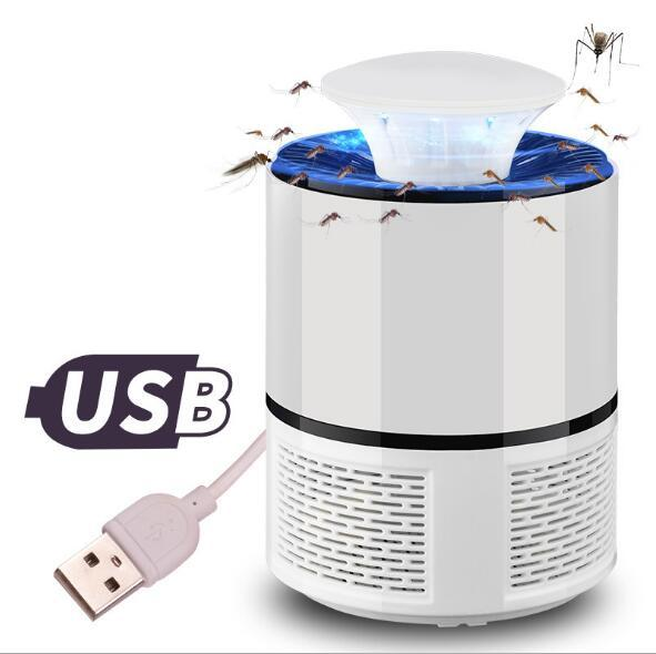 Bug Insect Repeller Zapper USB Electronics Mosquito Killer Lamp Pest Control Electric Mosquito Killer Fly Trap LED Light Lamp