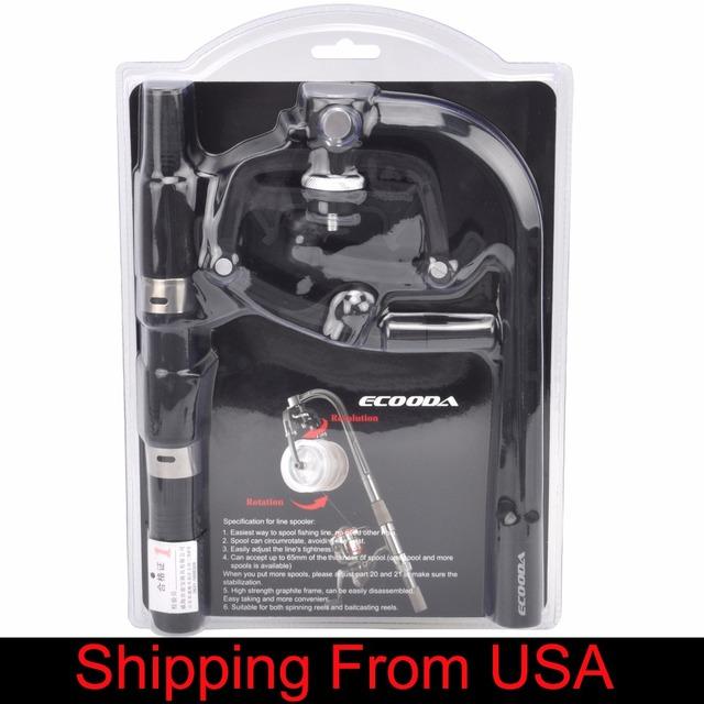 Fishing Line Spooler Winder Portable Reel Spool Spooling Station System for Spinning or Baitcasting