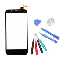 LINGWUZHE Phone Touch Panel Smartphone Touch Screen Digitizer Front Glass Sensor With Repair Tools For ARK Benefit M5 5 Inch