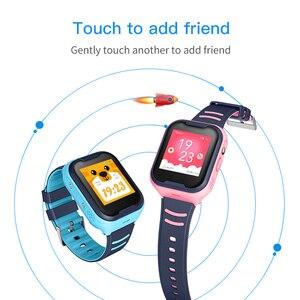 Image 5 - 어린이 스마트 시계 어린이 4g wifi gps 트래커 어린이 시계 전화 디지털 sos 알람 시계 카메라 전화 시계 어린이 pk q90
