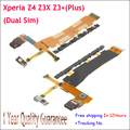 Original For Sony Xperia Z4 Power Volume Button USB Dock Charging Port + Microphone Cable for Xperia Z3X Z3+ Z3 Plus E6553