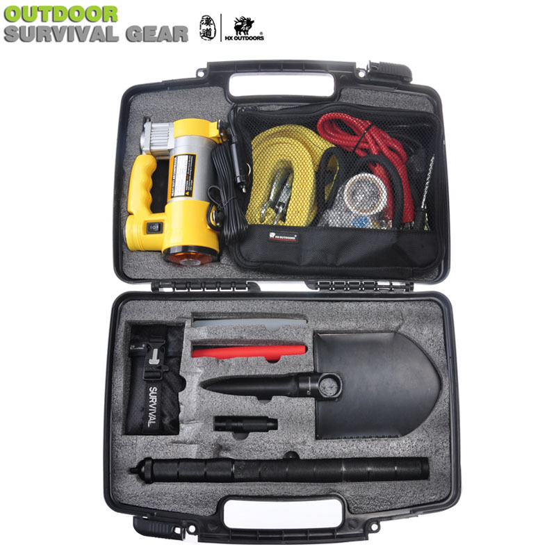 Multifunction Car Emergency Tools Set Auto repair tool Kit