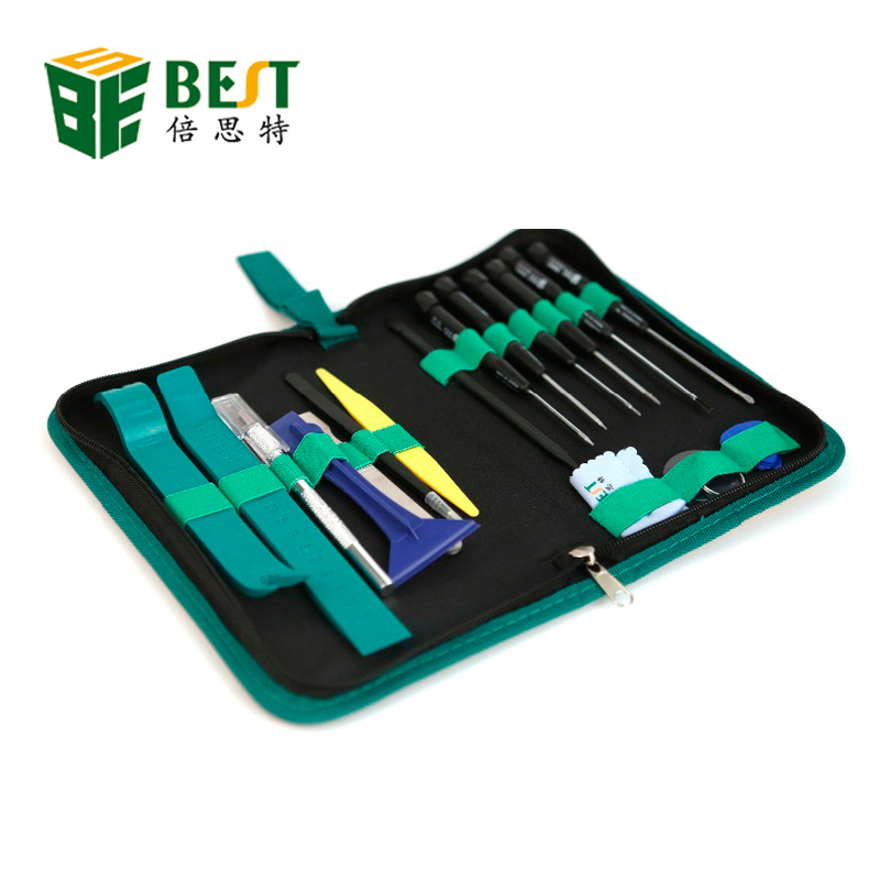 22 in 1 opening tools  BST-608  repair tools / mobile phone disassemble tools kit for iPhone iPad HTC Cell Phone tablet PC