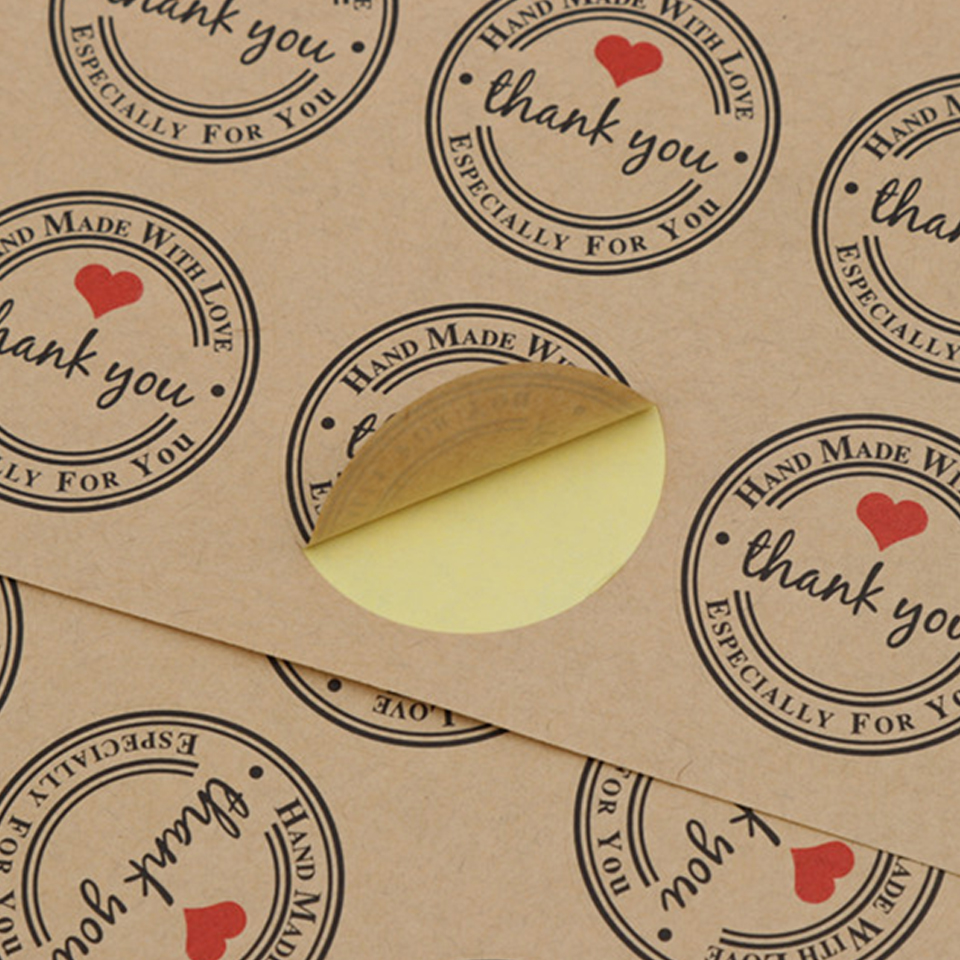 Medium Crop Of Thank You Stickers