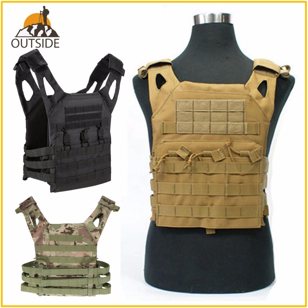 High Quality JPC 1000D Tactical Military Molle Plate Carrier JPC Vest Airsoft Paintball Hunting Police Outdoor Vest SWAT VEST top quality 1000d military vest airsoft tactical equipment hunting molle combat vest hunting gear police clothes