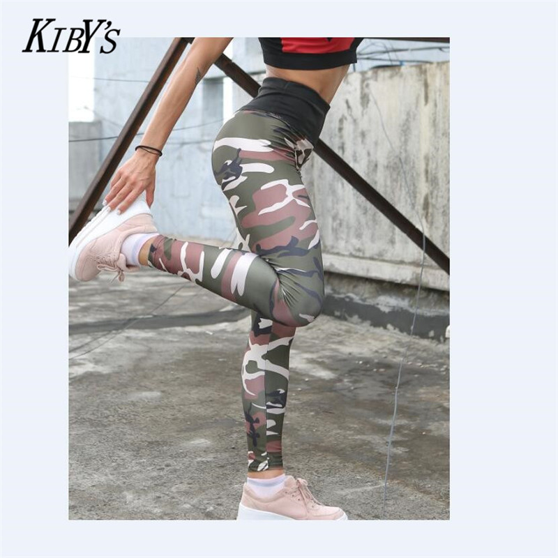 High Quality Women Leggings High Elastic Skinny Camouflage Legging Spring Summer Slimming Women Leisure Jegging Pants
