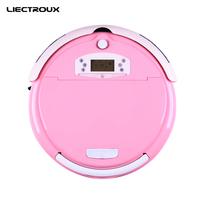 Multifunctional Auto Vacuum Cleaner 750 Vacuum Sweep Sterilize Air Flavor LCD Remote Control Timing Setting Self