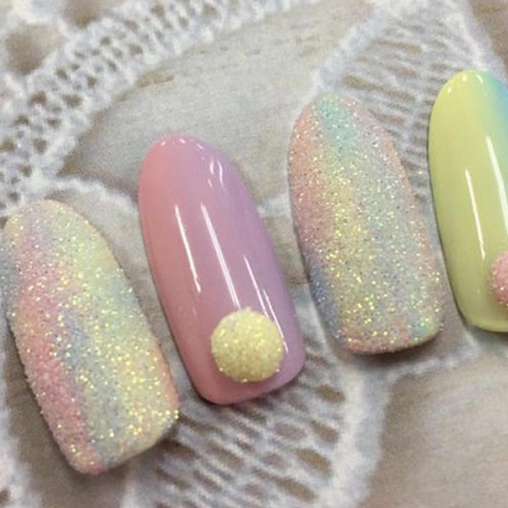 Nail Art Ideas » Nail Art Glitter Dust - Pictures of Nail Art Design ...