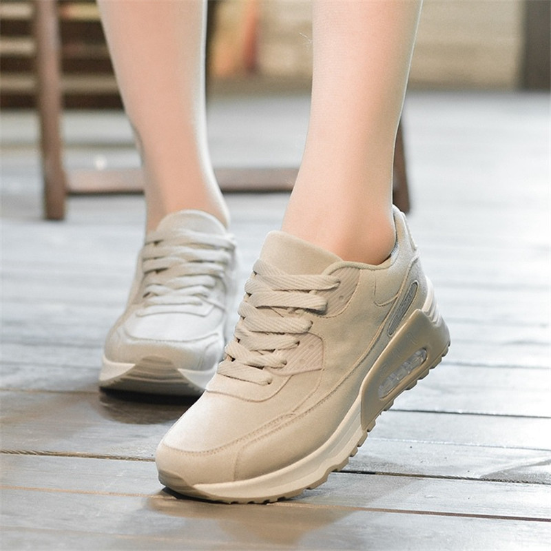 fashion ladies shoes woman casual women tenis feminino breathable womens shoes spring autumn trainers Height Increasing