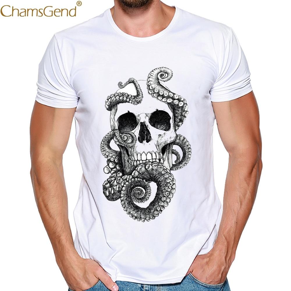 Printing White mens shirt slim fit cotton Broadcloth men shirt slim fit short sleeve Modal rinting Tees Blouse Summer Feb14