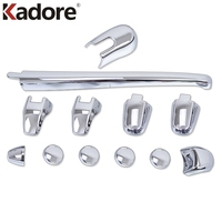 12pcs/set ABS Chrome Car Styling Rear Window Wiper cover trims Accessories For Kia Sportage 2007 2008 2009 2010