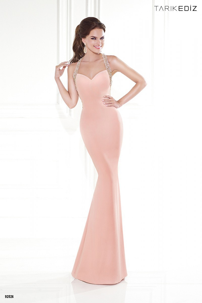 Sexy New Mermaid Long   Prom     Dress   2015 Halter Neck Sheer Back Floor Length Beading Satin Evening   Dresses   Vestido de festa