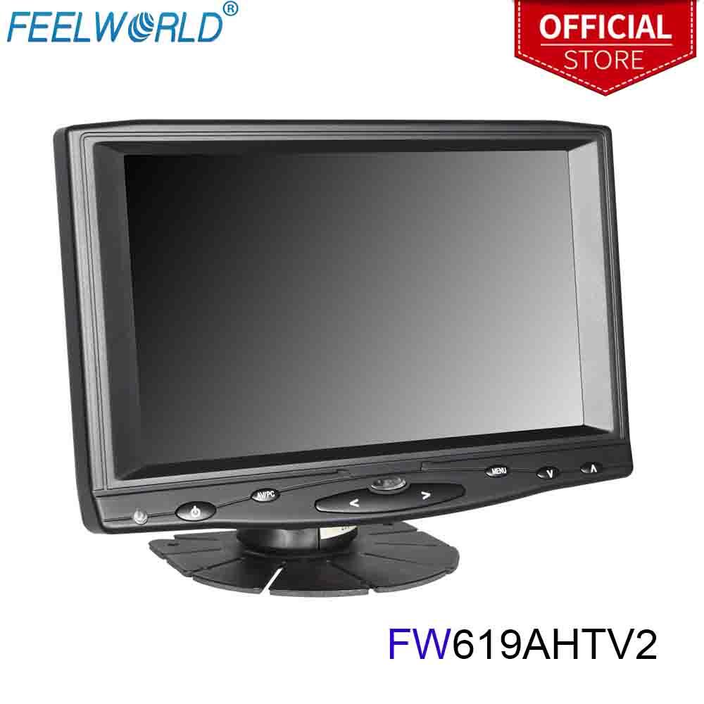 Feelworld FW619AHTV2 moniteur à écran tactile 7 pouces IPS 1024x600 avec entrée HDMI VGA AV moniteur LCD 7