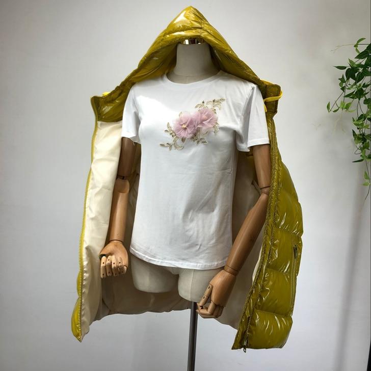 Manteaux Oversize Dames Chaud Manteau Argent Pour Automne Parkas black yellow rembourré Veste Et Parka Hommes Pain Coton 2018 Femmes Courts Silver Hiver T55wCqg