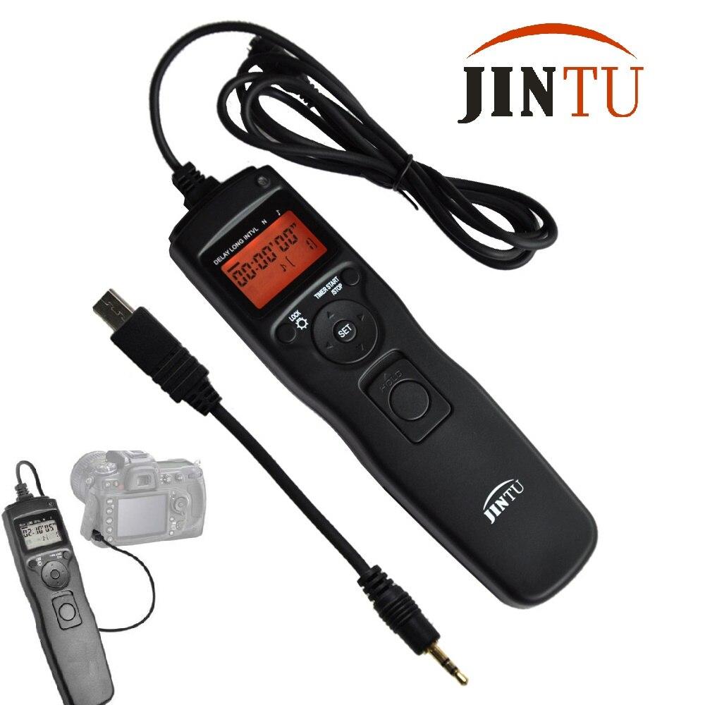 лучшая цена Jintu Time lapse intervalometer Remote Shutter Release For SONY A58 NEX-3NL A7 A7R A3000 A6000 HX300 RX100II HX50 DSLR Camera