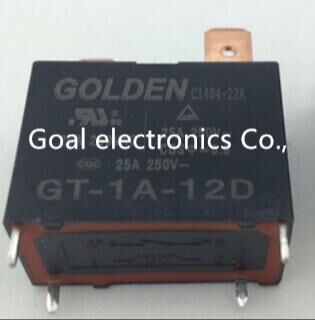New original relay GT-1A-12D 12VDC normally open small power relay 50pcs