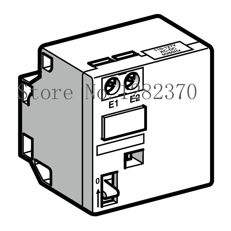[ZOB] original contactor off delay auxiliary contact being installed LADR4 LA-DR4 10-180S  --2pcs/lot
