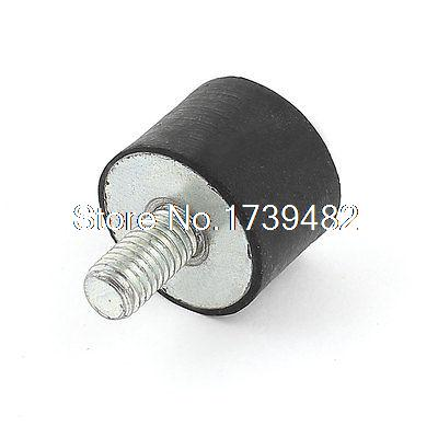 M8 Male Female End Rubber Vibration Mount Isolator Damper 25mm x 18mm