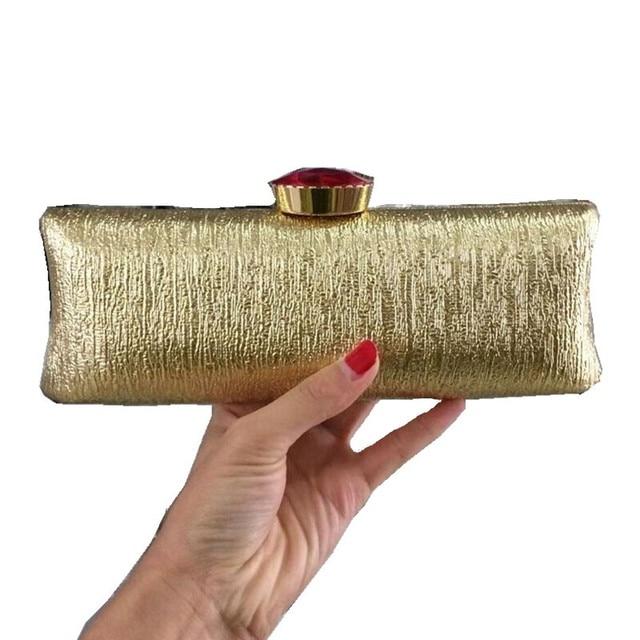women purple diamond Evening Bags gold Clutch Hard Box Clutches Bags Day Clutch party Purse wedding bridal bag women bags w321
