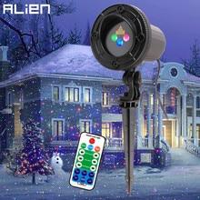 Чужой RGB движущиеся статические точки Звезда Рождество лазерный свет проектор Открытый Сад праздник елка Декор эффект шоу огни