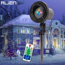 Estrangeiro rgb movendo pontos estáticos estrela natal projetor de luz laser ao ar livre jardim feriado natal árvore decoração efeito mostrar luzes